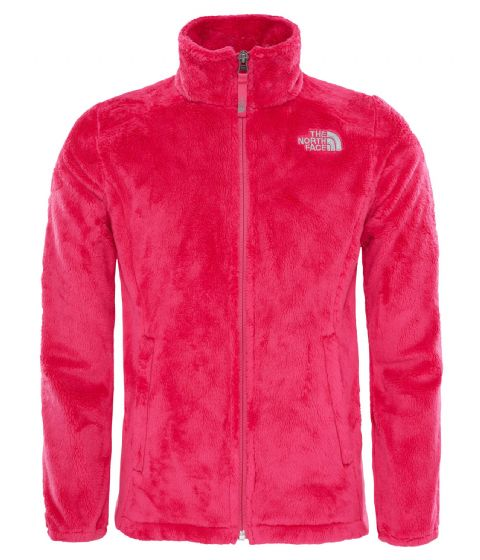 The North Face Girls Osolita Soft Fleece Jacket - Pink